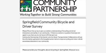 City Survey – They Need Our Input!